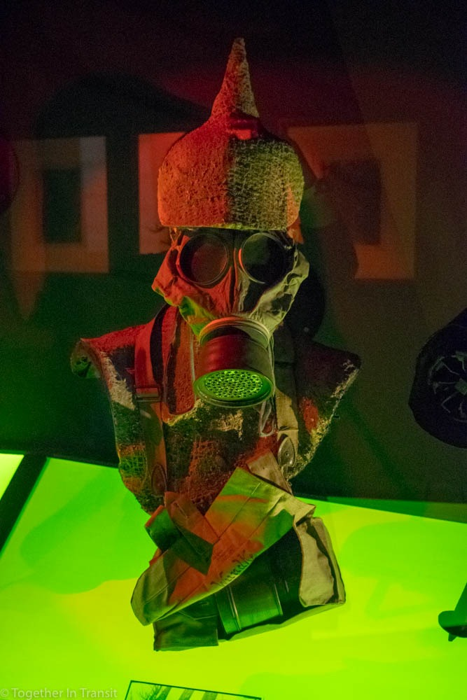 Gas Mask in the In Flanders Museum
