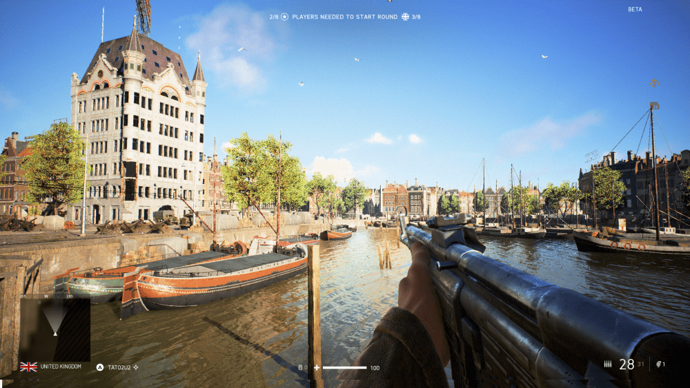 Battlefield 5 Rotterdam Map Comparison - Witte Huis and Oude Haven