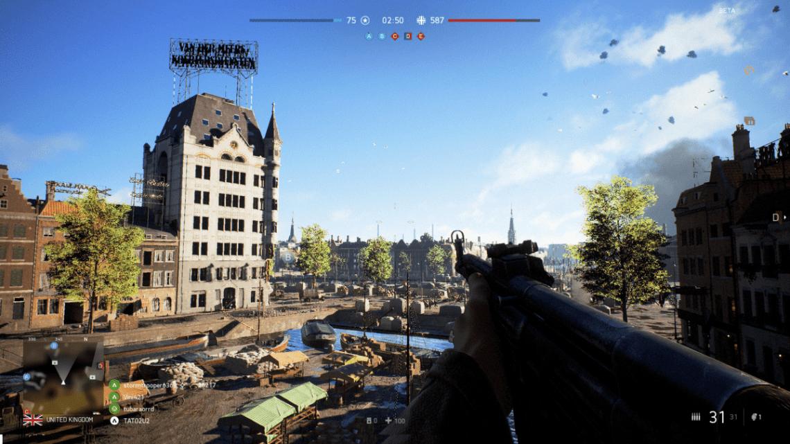 Battlefield 5 Comparison Witte Huis