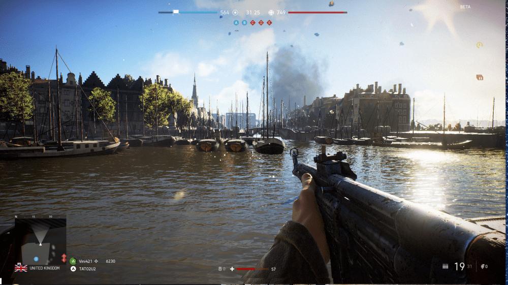 Battlefield 5 Comparação Oude Haven