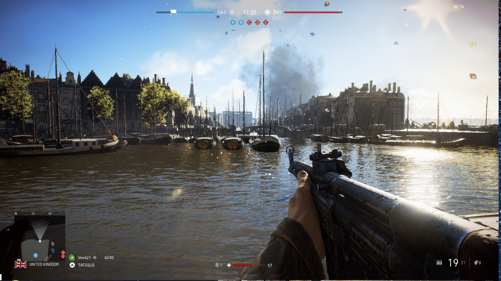 Battlefield 5 Comparison Oude Haven