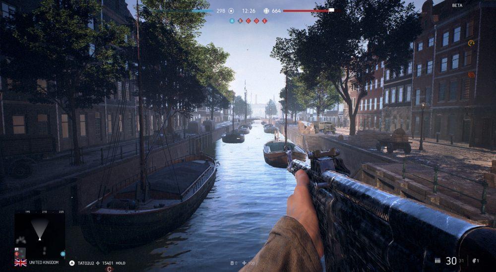 Battlefield 5 Roterdão Mapa Comparação Os Canais em Roterdão