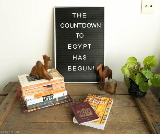 Egypt planning for the last few months have been fun, now we are counting down the last month!
