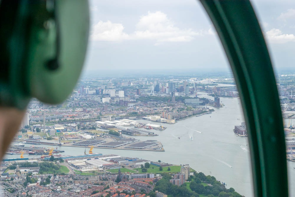 Rotterdam Helicopter Tour
