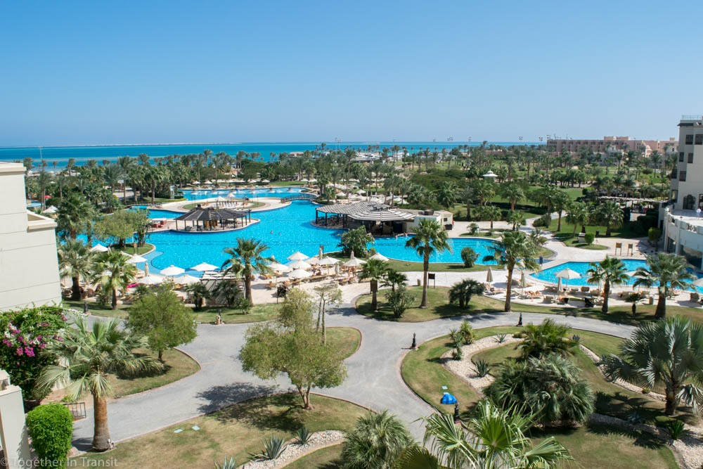 Where to stay in Egypt - Our view at the Steigenberger in Hurghada