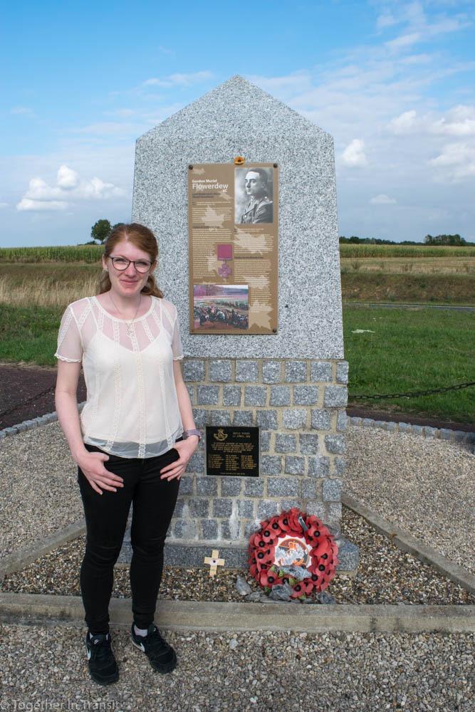 Remembering The Fallen of WW1: The Memorial of Gordon Flowerdew