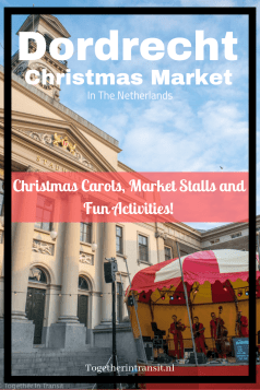 Dordrecht Christmas Market in December is the perfect location for the cosy Christmas atmosphere, live music, fun activities and to try delicious treats!