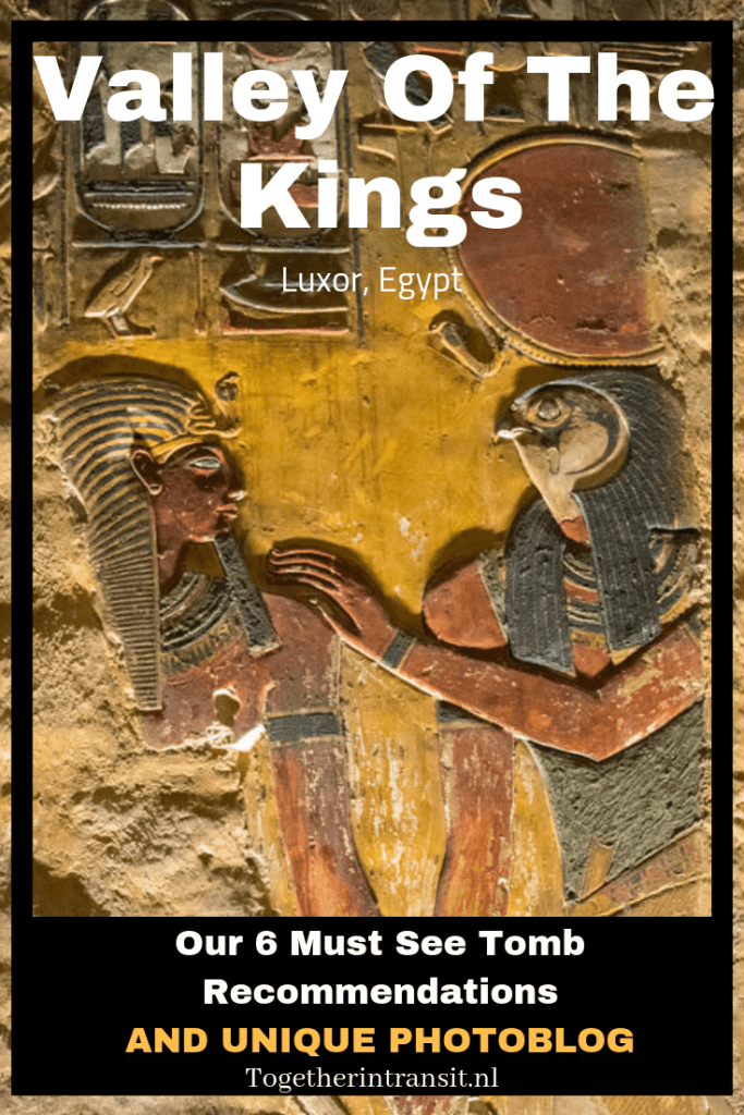 Thinking of visiting Valley Of The Kings in Luxor Egypt? Here's our 6 tomb recommendations and unique photoblog of the colourful paintings and carvings. #egypt #travel