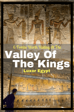 Thinking of visiting Valley Of The Kings in Luxor Egypt? Here's our 6 tomb recommendations and unique photoblog of the colourful paintings and carvings.