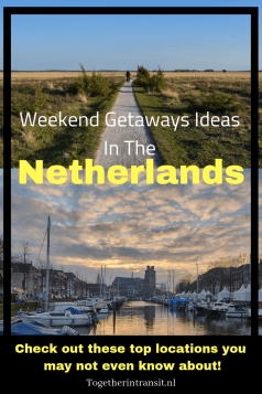 We have published an awesome list of Weekend Getaway Ideas In The Netherlands! There are many cultural, historic, adventurous and romantic locations for you to discover.