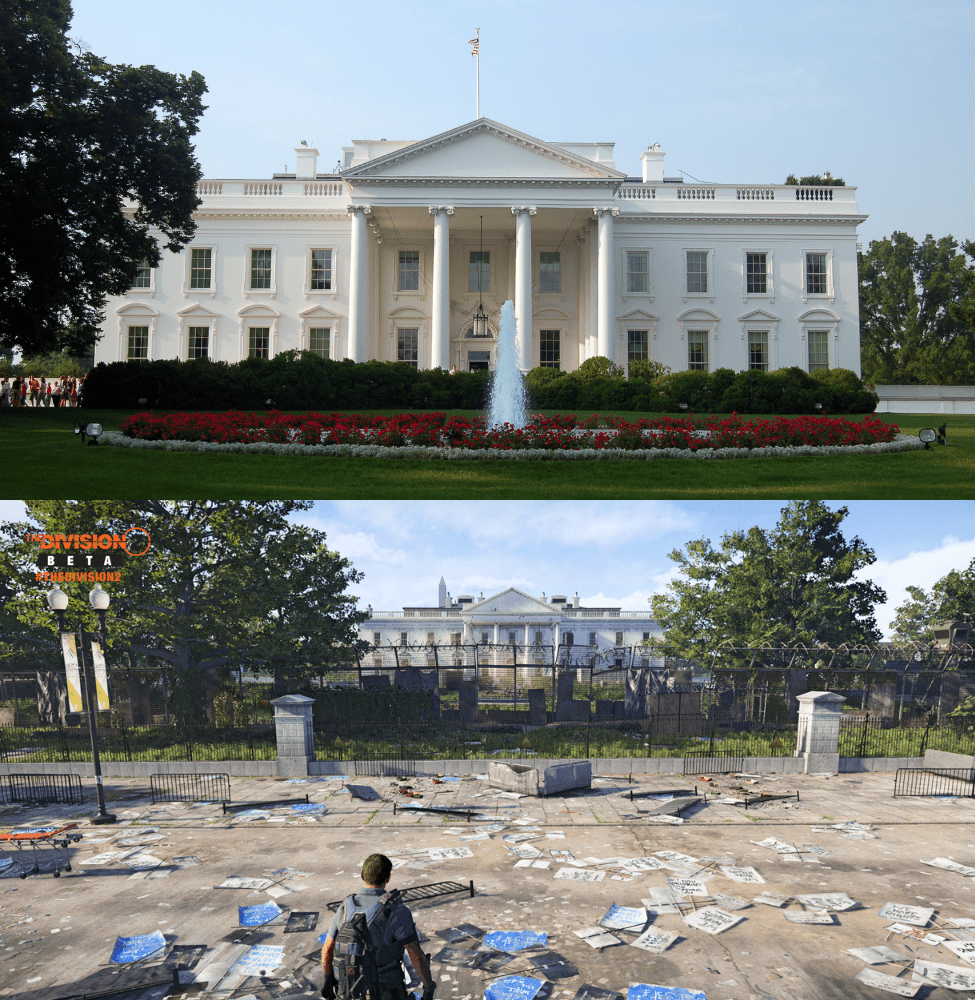 Division 2 Washington DC Comparison To Real Life - Together In Transit