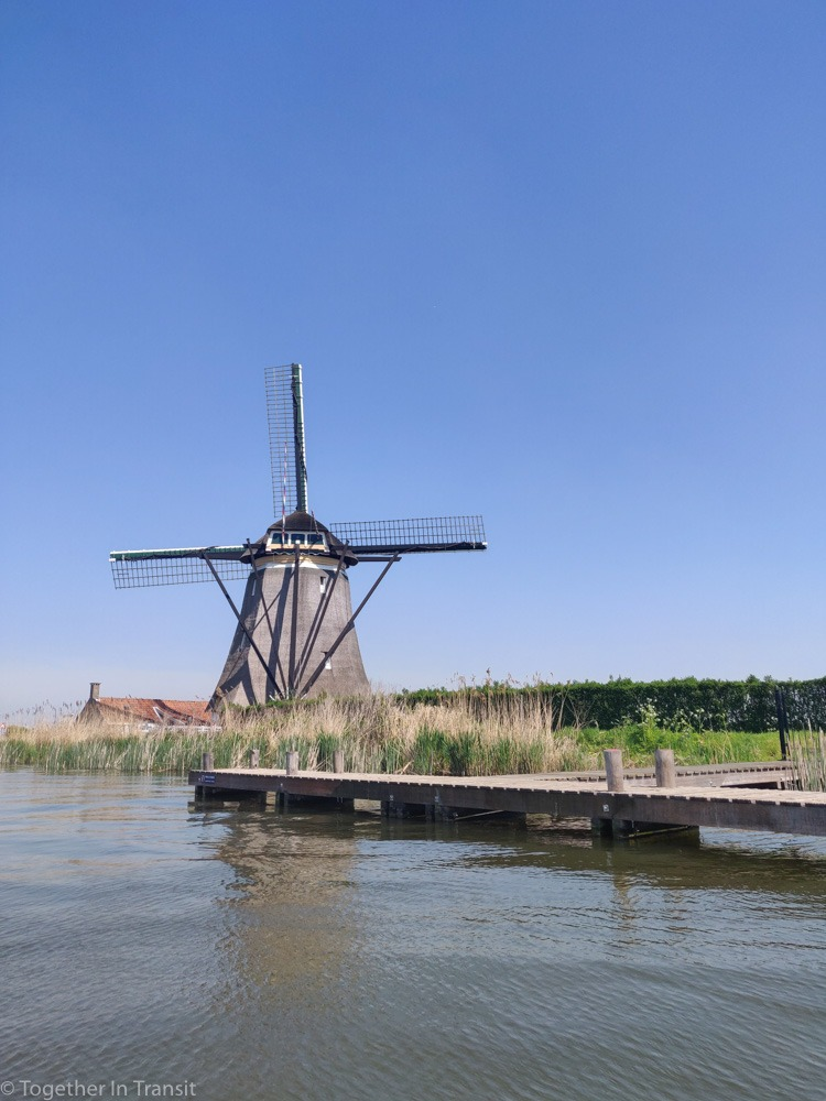 A windmill on the Rotte River