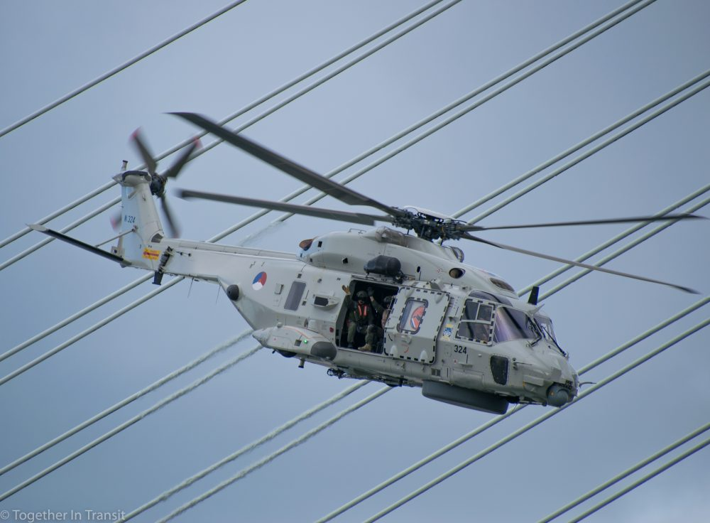 NH90 combat helicopter