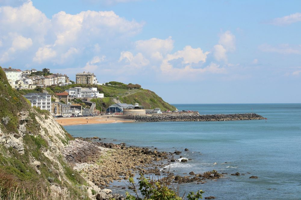 Ventnor Beach and Cove, Isle of Wight