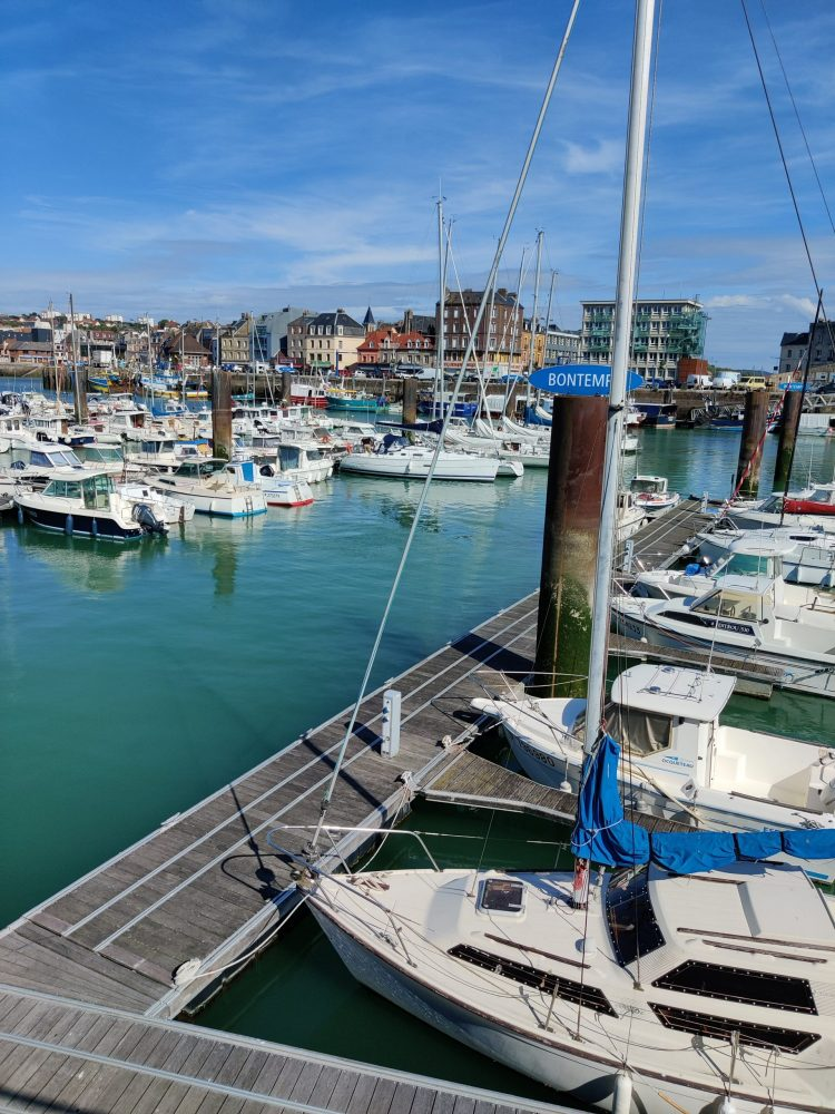 Fishing boats in Dieppe
