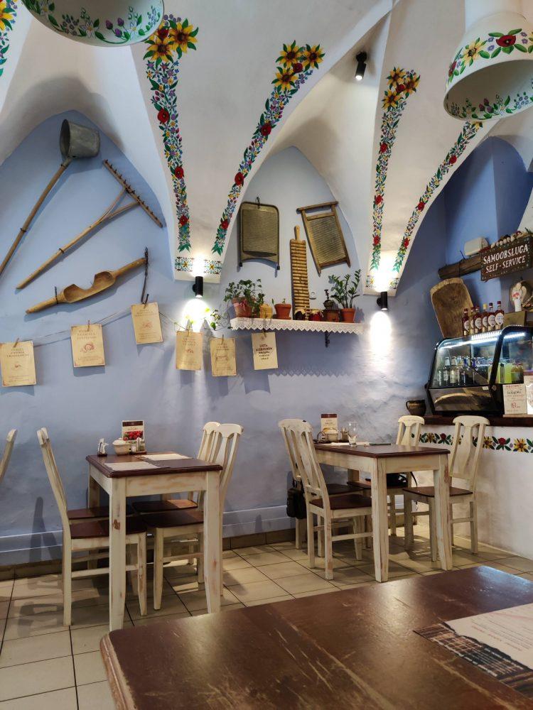 Pierogi restaurant in Krakow
