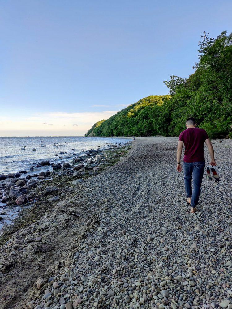 Gdynia beach walks