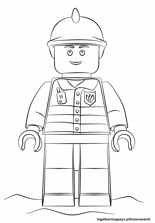 Kolorowanki Lego City Pobierz I Wydrukuj Together Magazyn 2