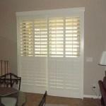 Faux Wood Blinds For Sliding Glass Doors Sliding Doors