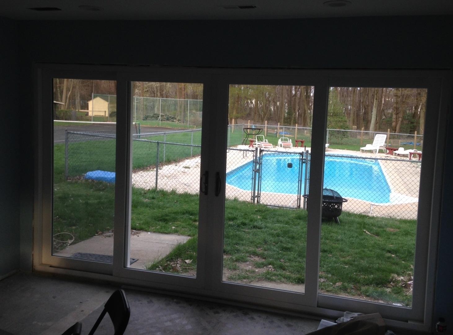 9 foot sliding patio doors sliding doors