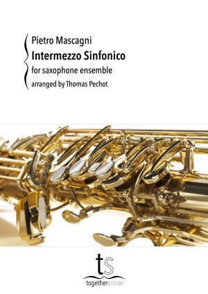 Partitions Ensemble Saxophones Intermezzo Sinfonico
