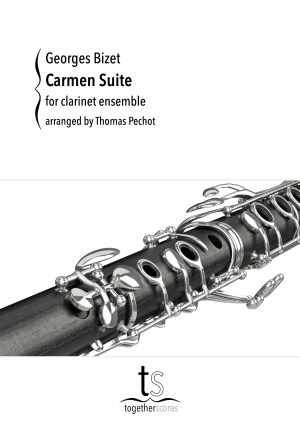 Partitions Ensemble Clarinettes Carmen Suite