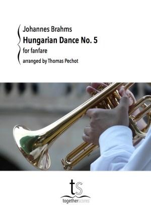 Partitions Fanfare Danse Hongroise Brahms
