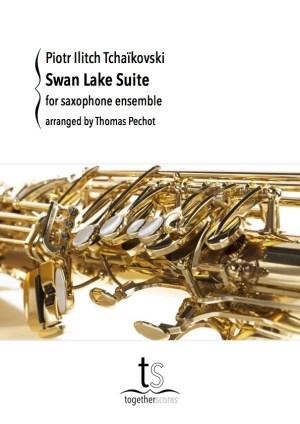 Partition Ensemble Saxophone Lac des Cygnes