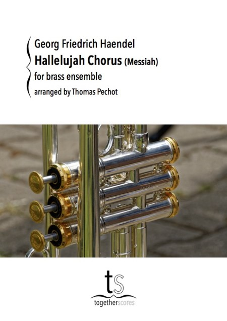 Partition Ensemble Cuivres Hallelujah Messiah Haendel