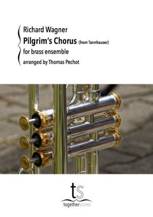 Partition Ensemble Cuivres Choeur des Pèlerins Wagner