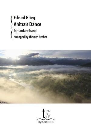 Partition Fanfare Danse d'Anitra Peer Gynt Grieg