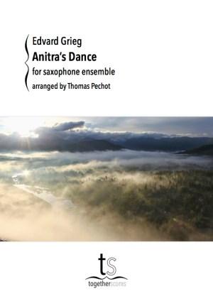 Saxophone Ensemble Sheet Music Anitras Dance Peer Gynt