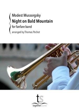 fanfare partition nuit sur le mont chauve moussorgski