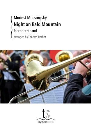 harmonie partituur een nacht op de kale berg moessorgski