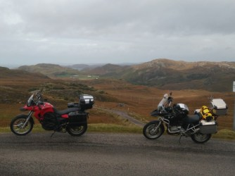 Biking the NC500