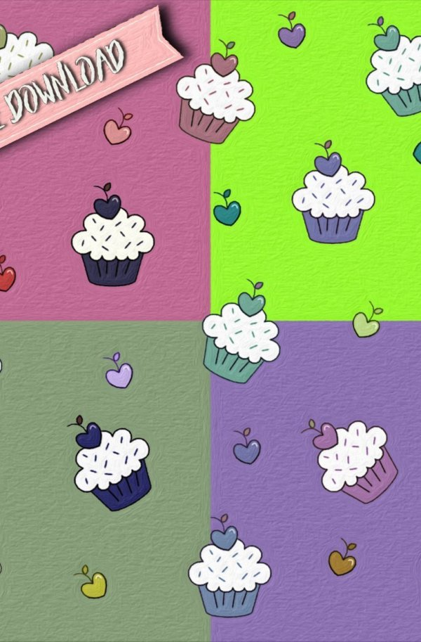 Cupcake cuore-free download
