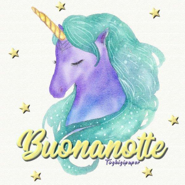 Buonanotte unicorno