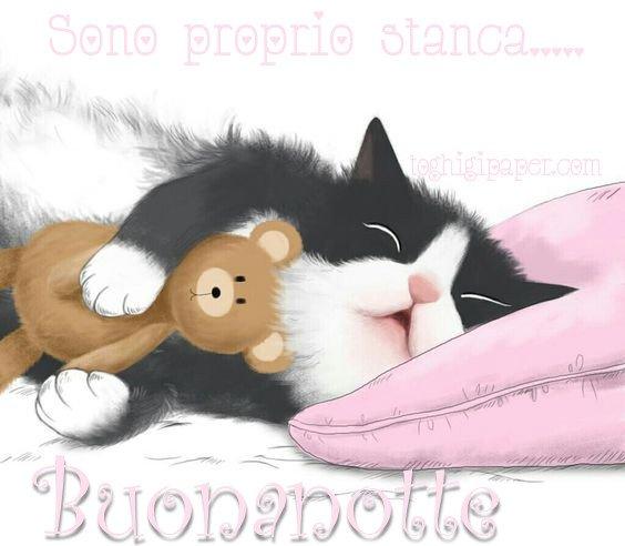 Buonanotte belle e nuove immagini gratis