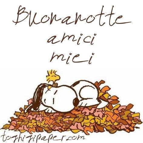 Buonanotte autunno nuove e bellissime immagini da scaricare gratis per Facebook e WhatsApp
