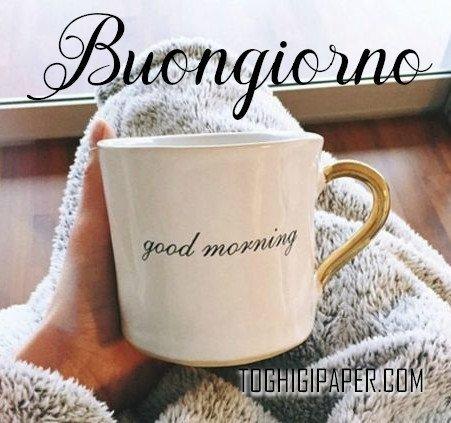 Buongiorno inverno caffè