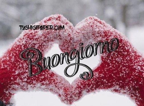 buongiorno inverno whatsapp