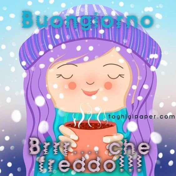 Buongiorno Nuove Inverno Whatsapp Toghigi Paper