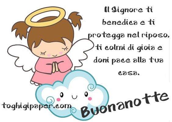 Angeli buonanotte immagini gratis WhatsApp nuove bacionotte dolci sogni per WhatsApp, Facebook, Pinterest, Instagram, Twitter