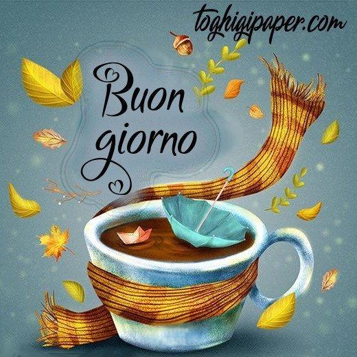 Buongiorno caffè autunno