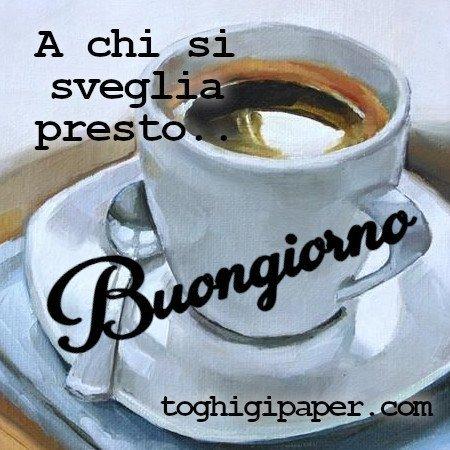 Buongiorno caffè nuove immagini gratis per Facebook e WhatsApp