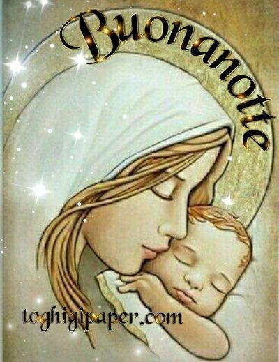 Gesù buonanotte, la raccolta di immagini dedicate a Gesù e alla Madonna, da scaricare gratis, per dare la buona notte ai tuoi amici di Facebook e WhatsApp