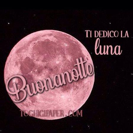 Buonanotte luna immagini gratis WhatsApp nuove bacionotte dolci sogni per WhatsApp, Facebook, Pinterest, Instagram, Twitter