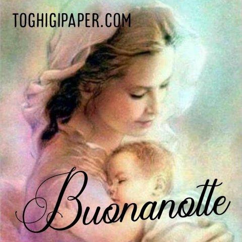 Buonanotte Madonna bellissime immagini gratis WhatsApp nuove bacionotte dolci sogni per WhatsApp, Facebook, Pinterest, Instagram, Twitter