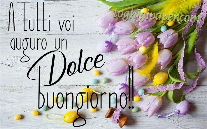 Pasqua buongiorno fiori primavera nuove e belle immagini gratis per WhatsApp, Facebook, Pinterest, Instagram, Twitter