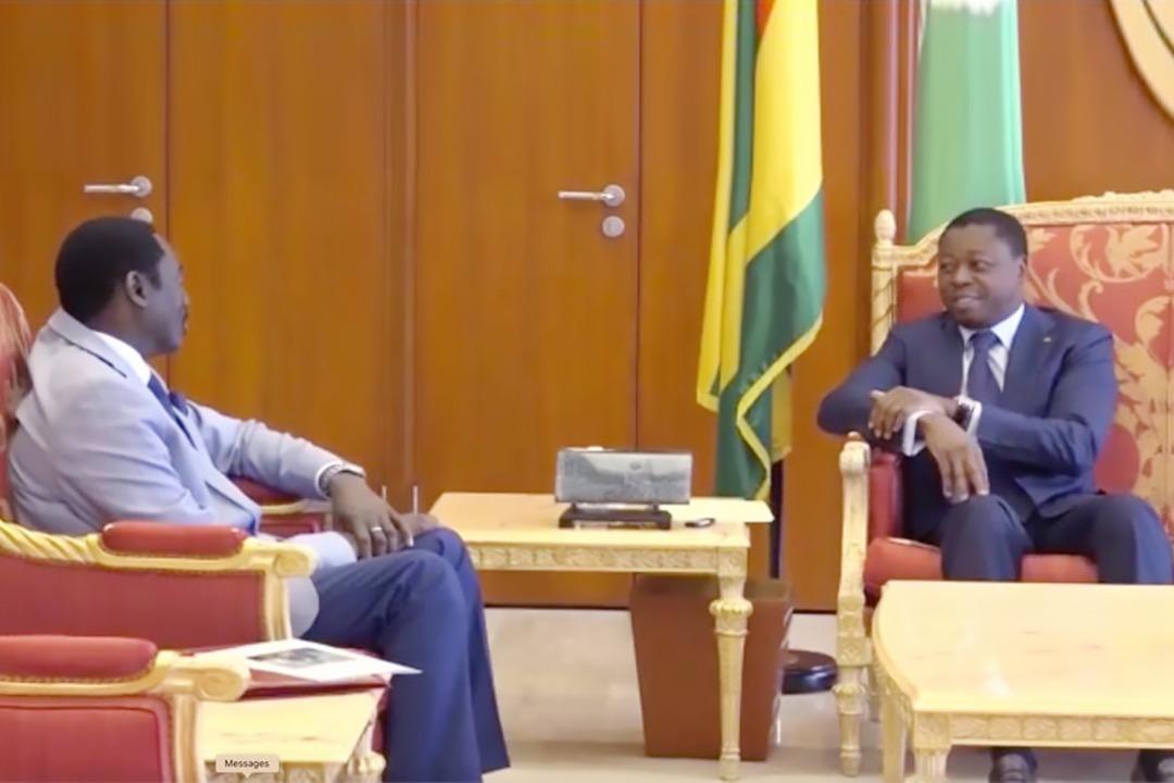 TangaraFaure Diplomatie: Adama Barrow appelle à l'aide Faure Gnassingbe
